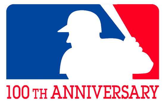 Jerry's initial design was used as the 100th anniversary logo for Major League Baseball