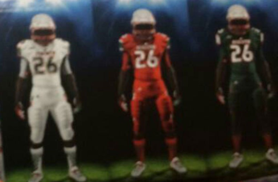 University of Miami's new adidas football uniforms may have leaked