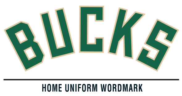Milwaukee Bucks Home Uniform Wordmark 2015-16