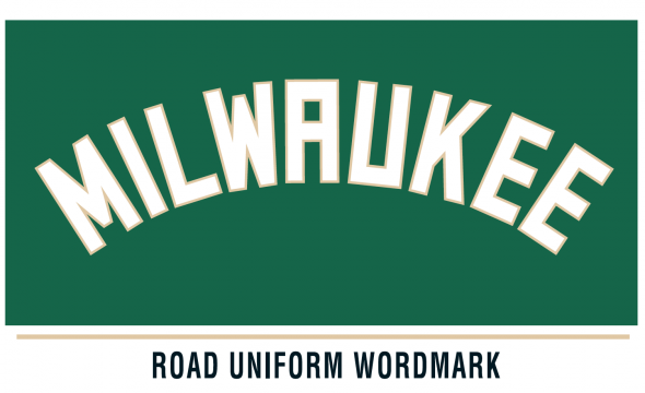 Milwaukee Bucks Road Uniform Wordmark 2015-16