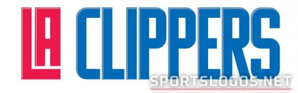 NEW LA Clippers Wordmark Logo