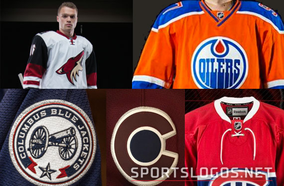Five NHL Teams Unveil New Uniforms on Busy Draft Day