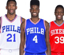 New Sixers Uniforms