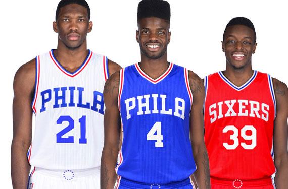 Phila 76ers Unveil New Uniforms