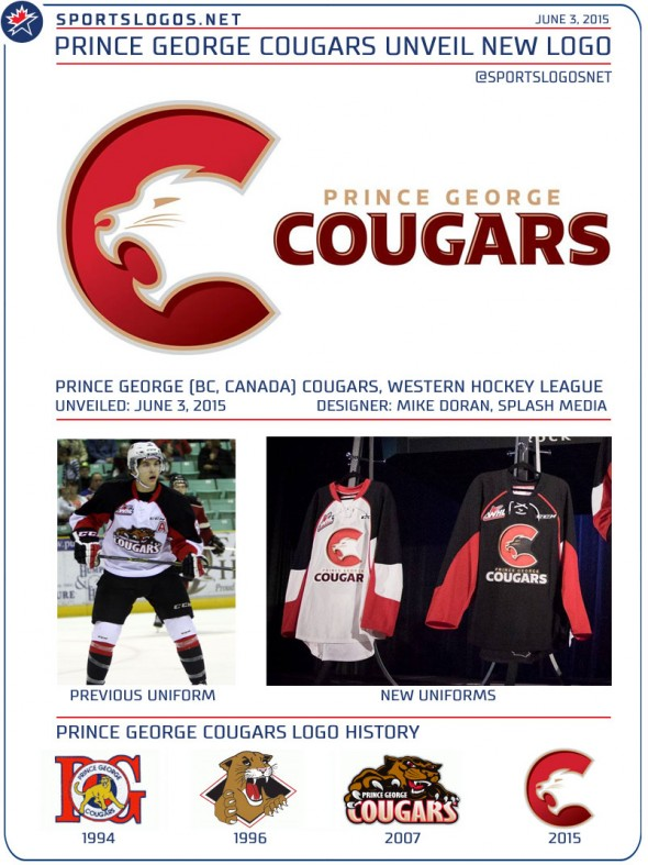 Prince George Cougars New Logo Unveil