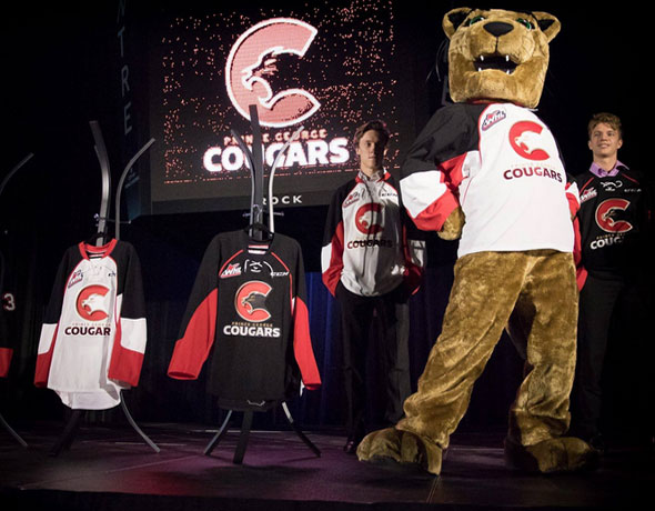 WHL Prince George Cougars Unveil New Logo