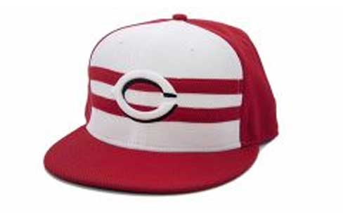 2015 MLB All-Stars to Wear Striped Caps in Cincinnati