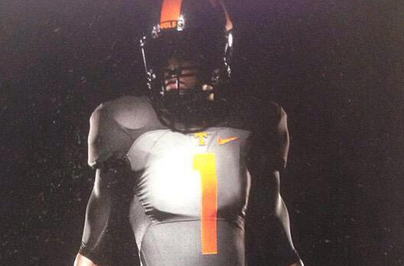 Are these the new Tennessee Volunteers football uniforms?