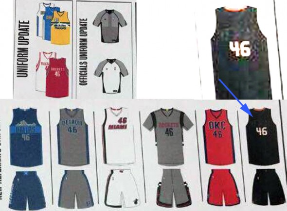 2015-2016 NBA new uniforms leaked 2
