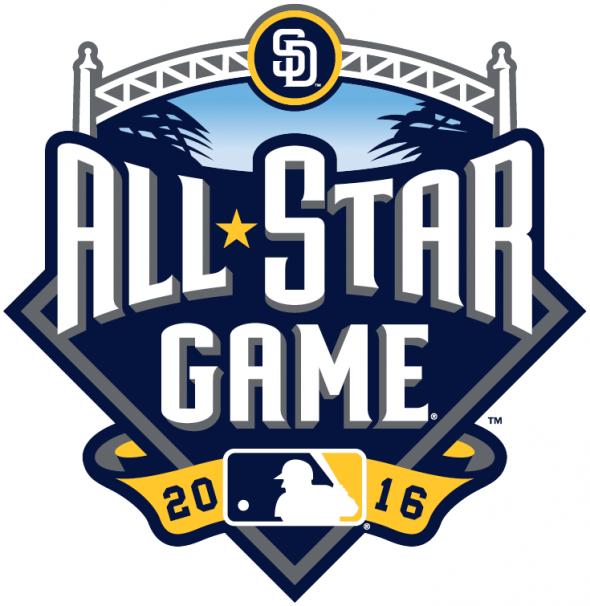 2016 MLB All-Star Logo San Diego Primary