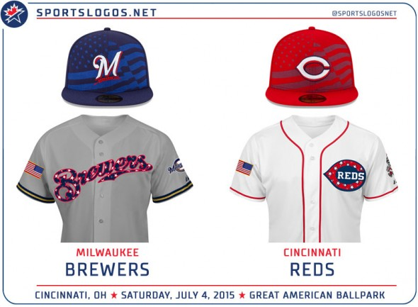 BREWERS REDS