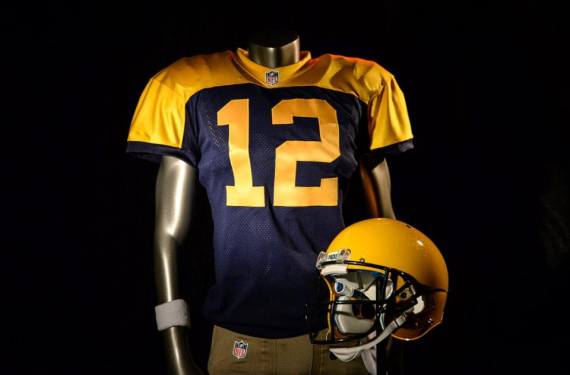 3e7989268 The new Packers throwbacks are slightly better than their Acme ...