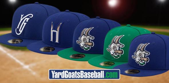 Yard Goats Caps