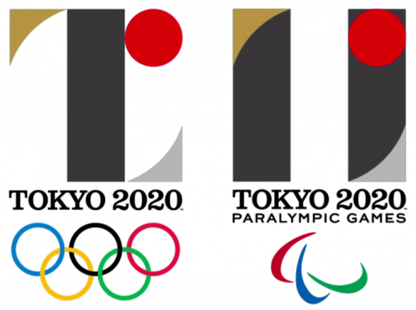 Tokyo 2020 Olympic Paralympic Logos