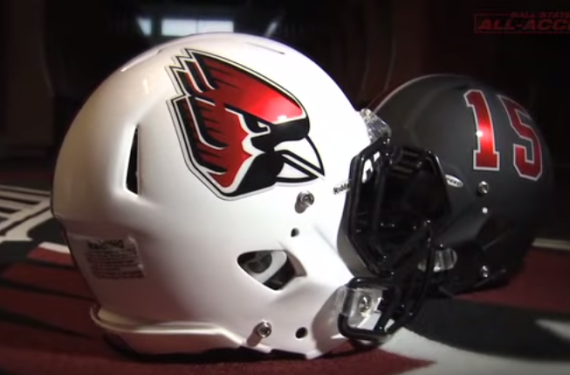 Ball State Cardinals will wear six helmets this season