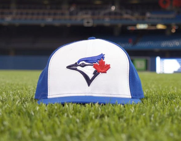 Blue Jays White Panel Cap