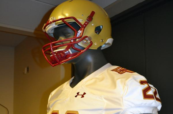 Boston College goes throwback for their 2015 Shamrock Series uniforms