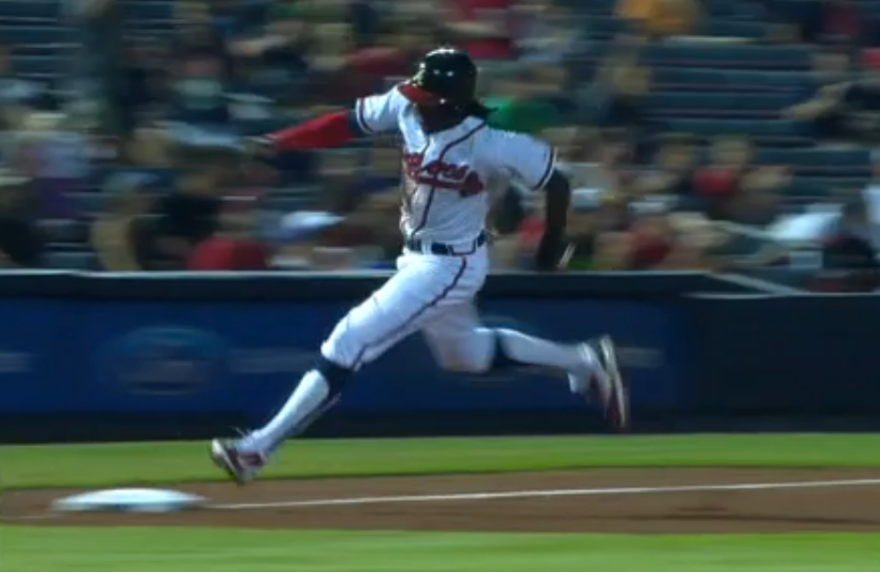 Braves tell Cameron Maybin that he can't wear stirrups anymore