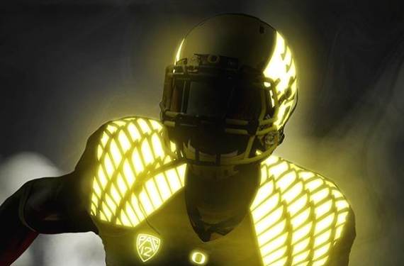 Are the Oregon Ducks really about to wear glow-in-the-dark uniforms?
