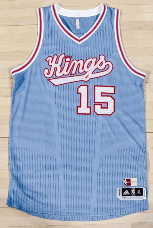 Sac Kings Baby Blue Uniform 2015-16