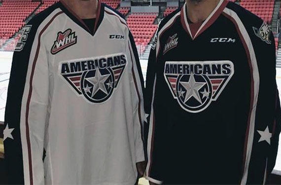 Tri Cities Americans New Uniforms