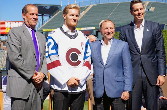 Avalanche Unveil 2016 Stadium Series Jersey