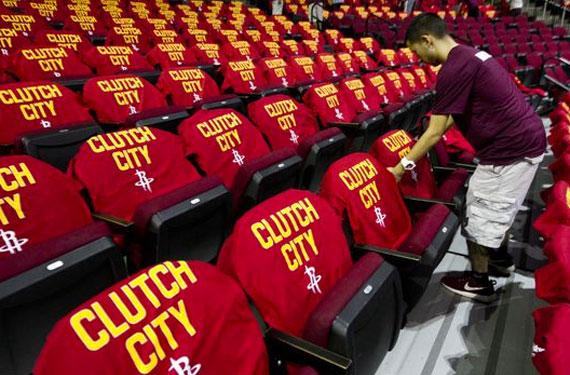 Rockets to Unveil New 'Clutch City' Uniforms