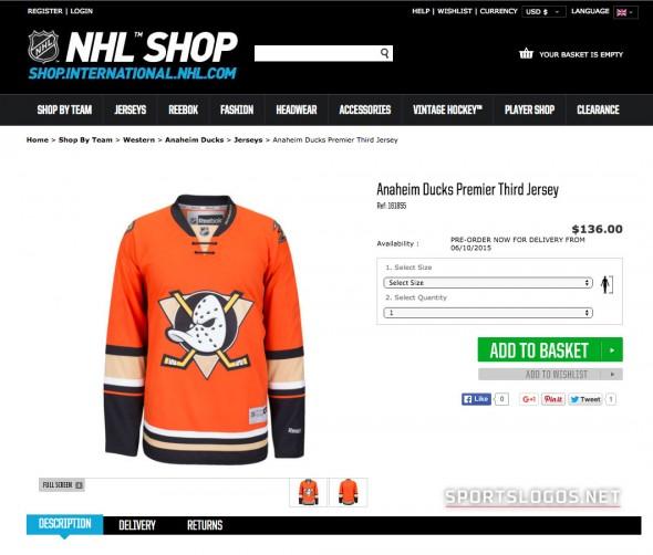 Ducks Leak NHL