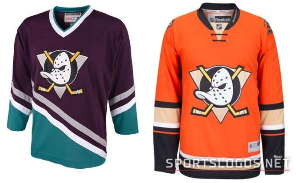 Original Mighty Ducks vs New Ducks