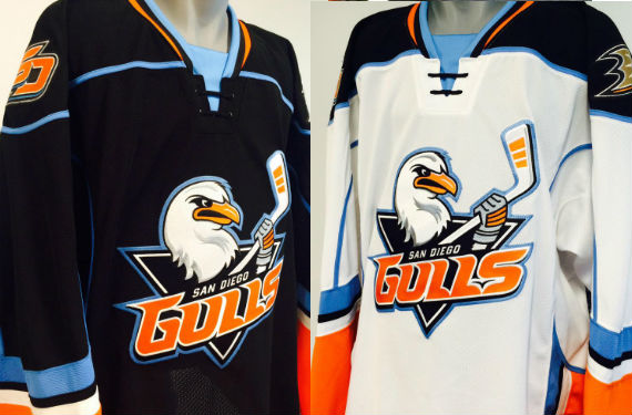 San Diego Gulls Unveil New Uniforms For AHL Debut