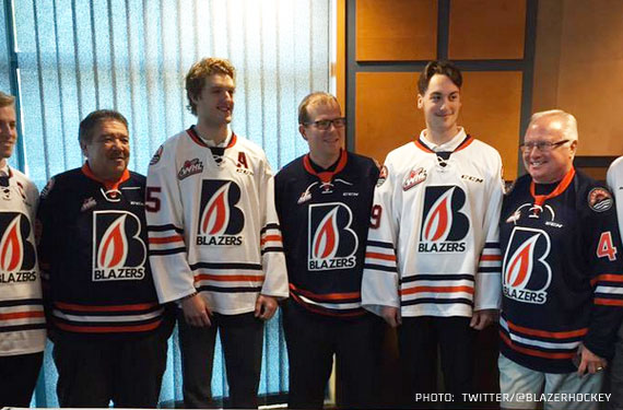 Kamloops Blazers Unveil New Uniform