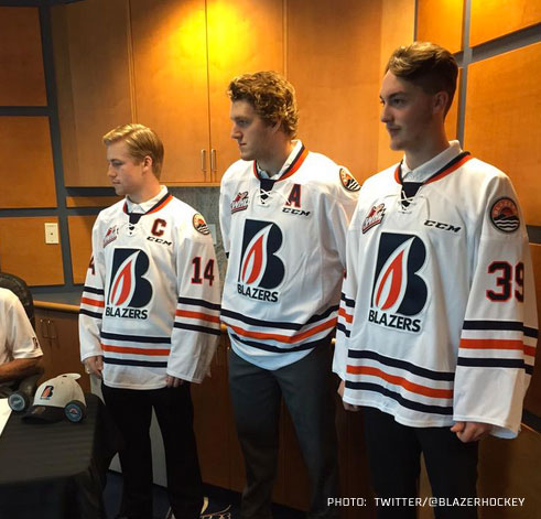 Kamloops new home jersey