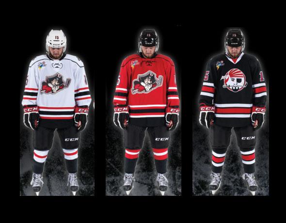 Portland Pirates Unveil New Uniforms