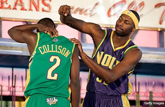 "New Orleans Hornets ""Mardi Gras"" Uniforms Unveiled, 2009"