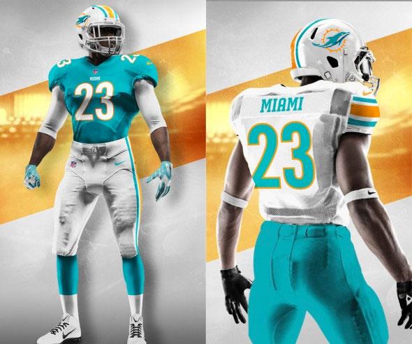 Miami Dolphins Making a Uniform Tweak in 2018  316e857c0