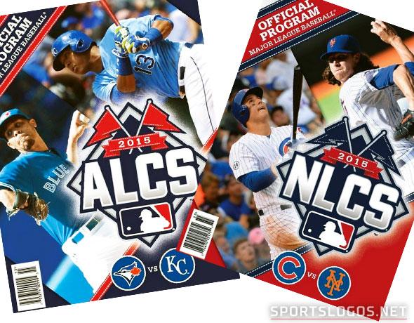 2015 ALCS, NLCS Program Covers Unveiled
