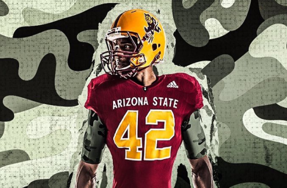 Arizona State brings back Sparky with Pat Tillman 1996 Throwbacks