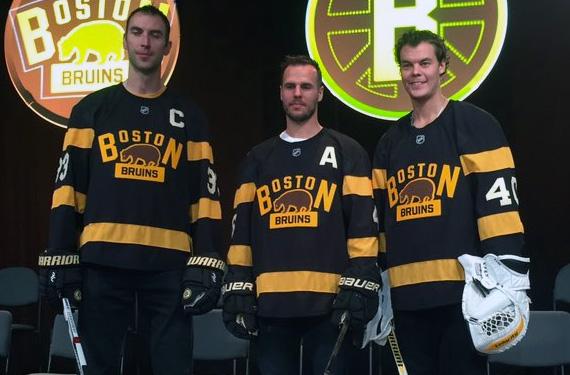 Pics: Beauty Habs-Bruins Uniforms at 2016 Winter Classic