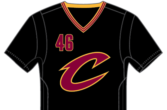 Cavs alternate sleeved feature