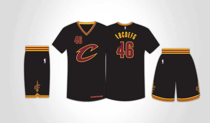 9727fbaf4c0 Cavaliers will wear sleeved black jerseys for Game 5 of NBA Finals ...