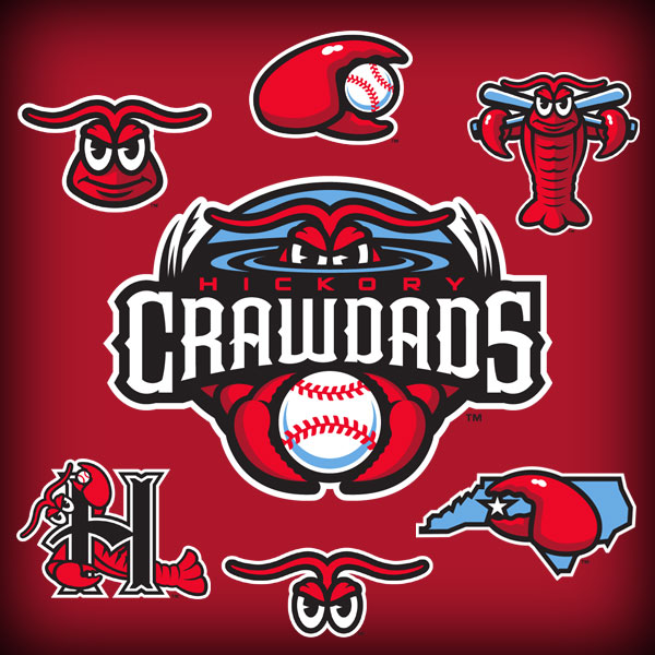 Hickory Crawdads Unveil New, Expanded Identity