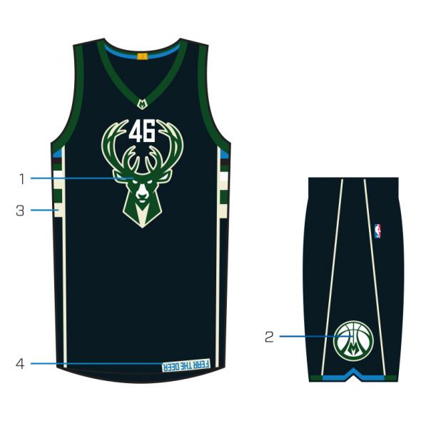 Fear The Deer Uniform #3