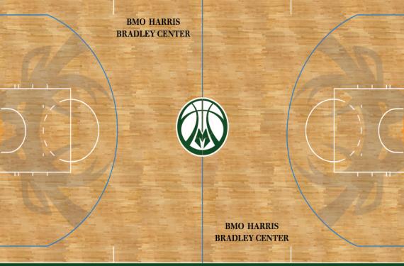 Milwaukee Bucks become first NBA team to unveil alternate court