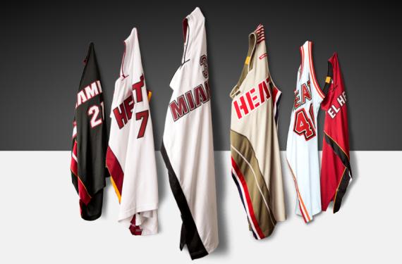 Miami Heat unveil three alternate uniforms for 2015-16 season