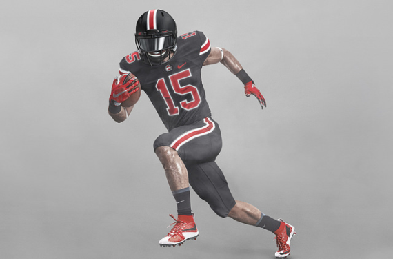 "Idea for Ohio State's black uniform came ""straight from Nike"""