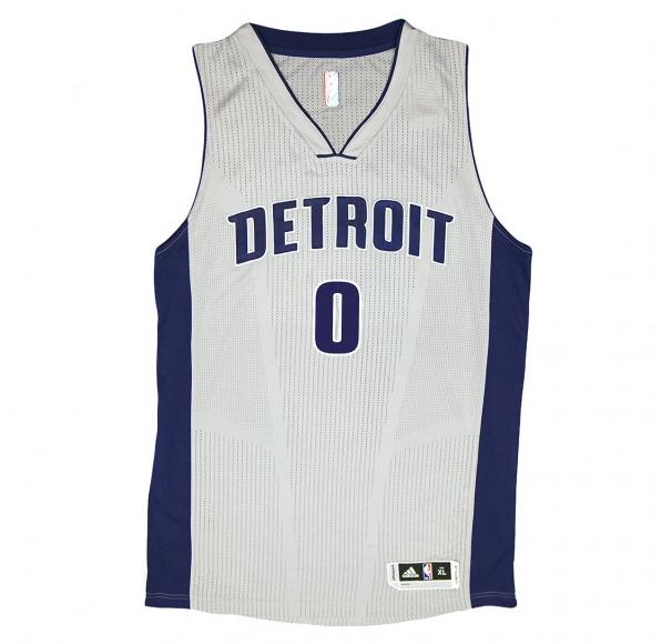 Detroit Pistons go gray with Chrome alternate uniforms  d62b22c22