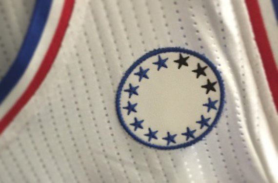 Sixers patch feature