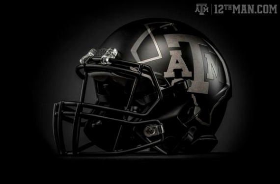 """Texas A&M won't be able to wear their """"Light Up the Night"""" unis at night"""