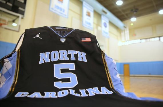 North Carolina Tar Heels will wear black basketball uniforms in Brooklyn