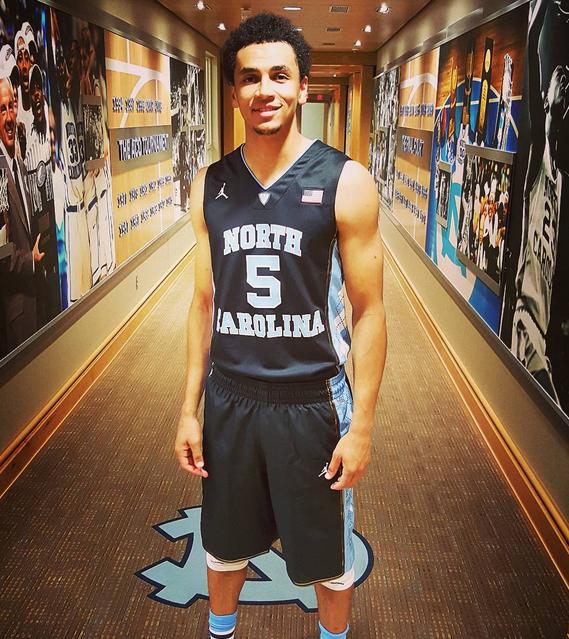Unc Basketball Uniform 82